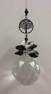Black Tree of Life Suncatcher