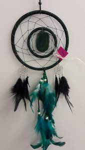 Green Agate Dreamcatcher