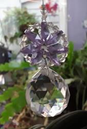 Lilac Wheel Suncatcher