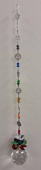 Chakra Symbols Suncatcher 40mm