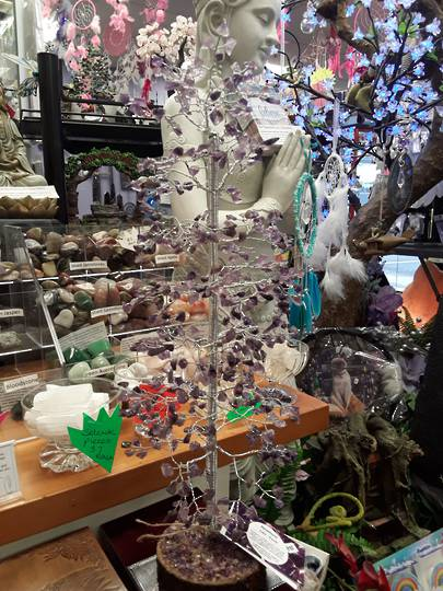 Tall Amethyst Crystal Tree