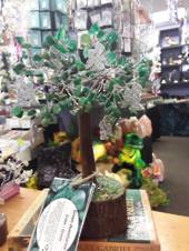 Green Aventurine Angel Wish Tree