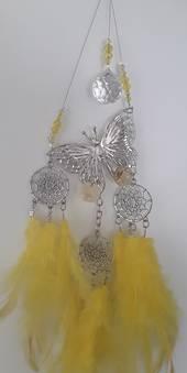 Sunshine Butterfly Dreamcatcher Suncatcher
