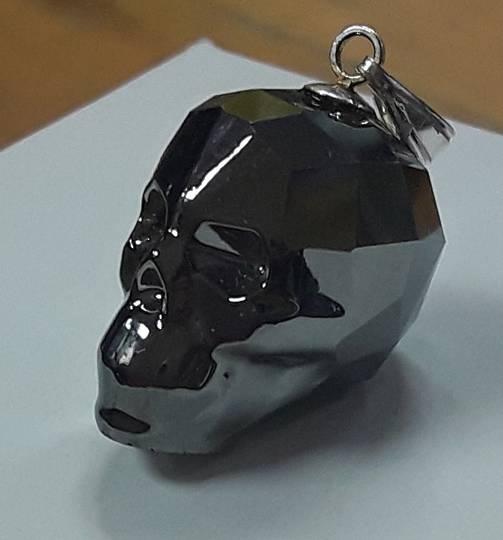 Black Crystal Skull