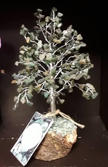 Green Aventurine Wish Tree 25cms