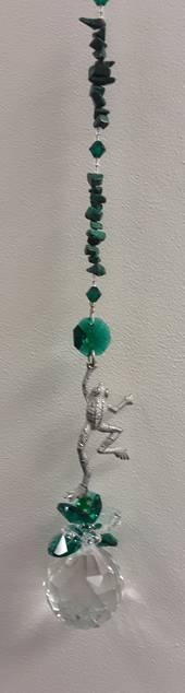 Malachite Frog Suncatcher