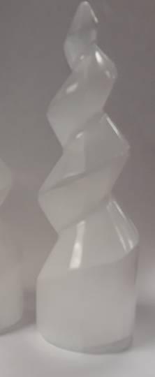 Small Selenite Crystal Twist