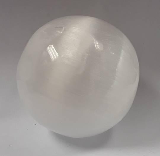 Selenite Crystal Ball 8cms