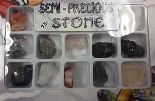 Unpolished Crystal Selection Box A