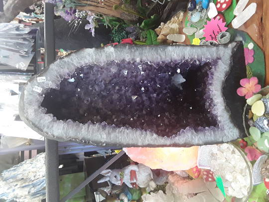 Amethyst with Calcite Geode 45kgs
