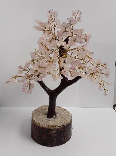 Crystal Spirits Rose Quartz Crystal Tree