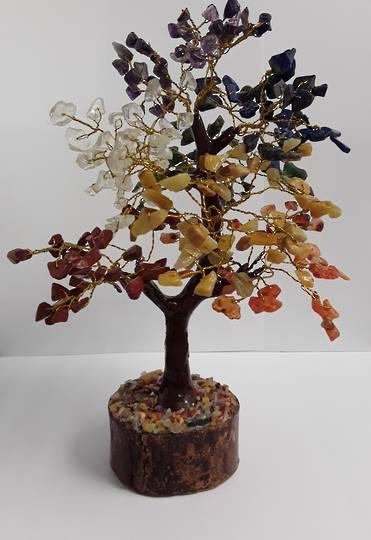 Crystal Spirits Chakra Crystal Tree