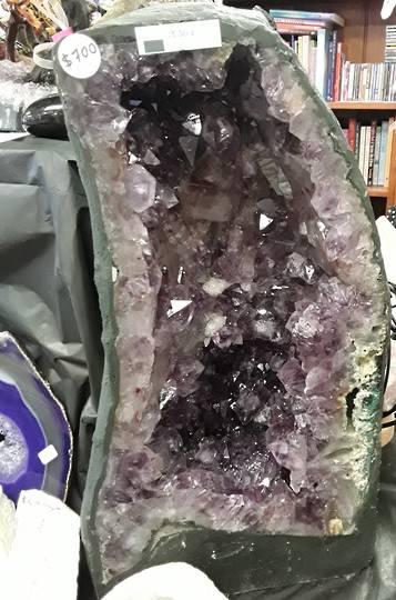 Medium Amethyst Geode (^J^) was $700 now $600