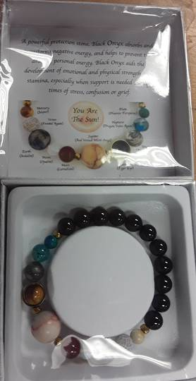 Plantary and Black Onyx Bracelet