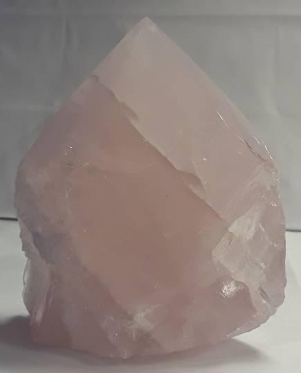Rose Quartz Rough/Polished Point (rqp14)