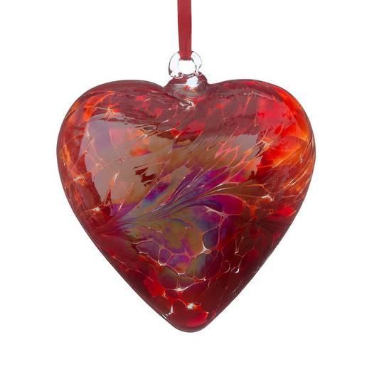 8cm Friendship Heart - Red