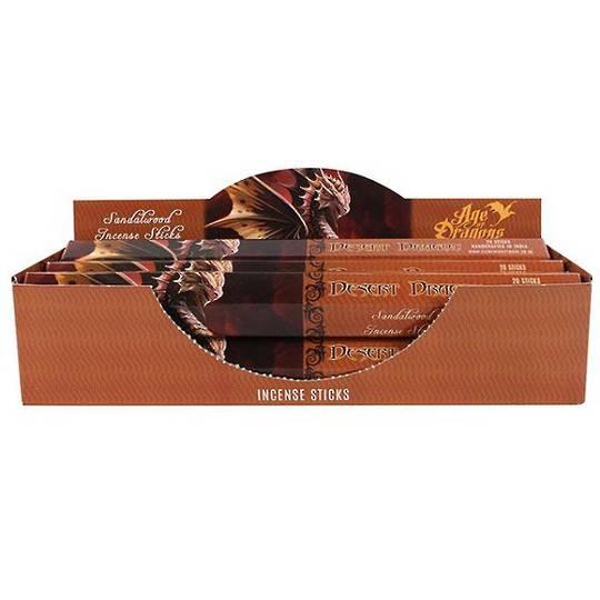 Age of Dragons - Desert Dragon 20 gram Incense Sticks Sandalwood Fragrance