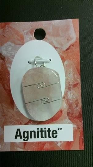 Agnitite™ Wire Wrap Pendant