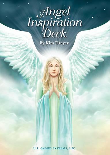 Angel Inspiration Deck Cards by Kim Dryer