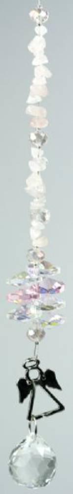 Angel B Rose Quartz Suncatcher