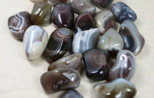 Medium Botswana Agate Tumbled Piece