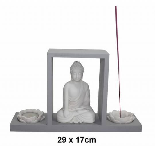 Buddha Tealight Incense Holder