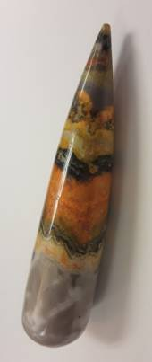 Bumble Bee Jasper Crystal Wand