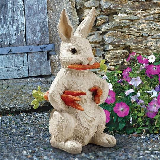 Carotene the Bunny Rabbit Garden Statue