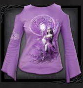 Celtic Fairy Long Sleeve Purple S was $65 now $35