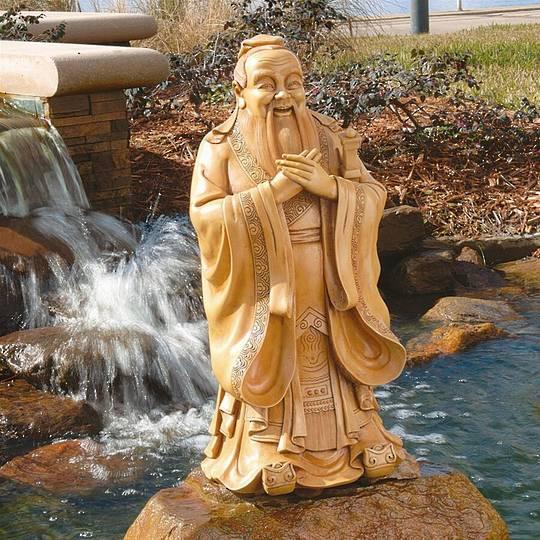 Confucius Garden Sculpture