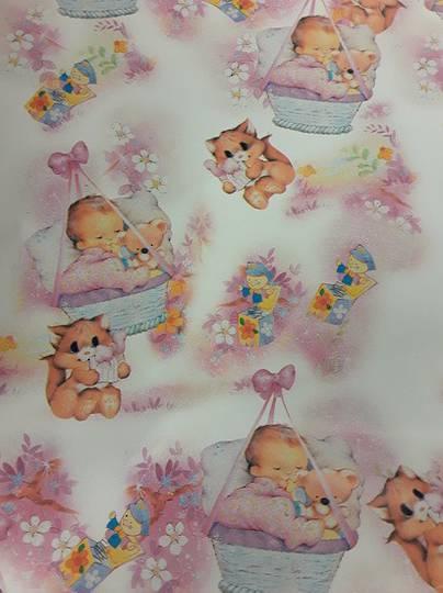 Cutie Baby Free Grift Wrap