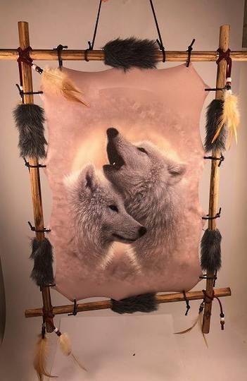 Dreamcatcher White Wolf