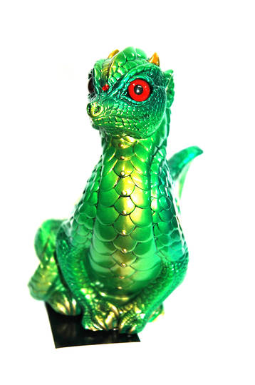 Windstone Editions Emerald Fledgling dragon