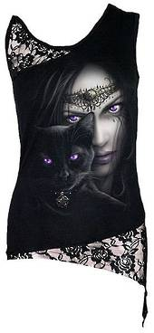 CATS EYES Sleeveless Lace top (Dt194282) XL was $65 now $35