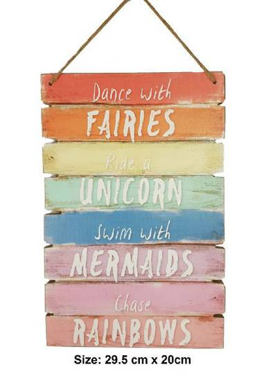 Dance with Faries MDF Plaque