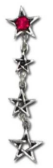 Chain of Venus stud earrings (pair)