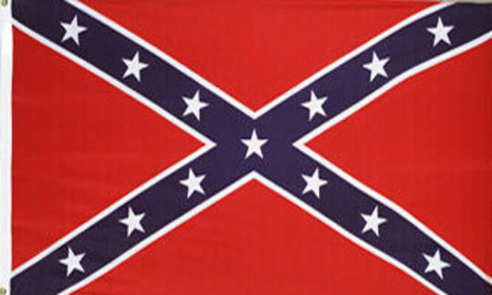 Confederate 5ft x 3ft Polyester Flag
