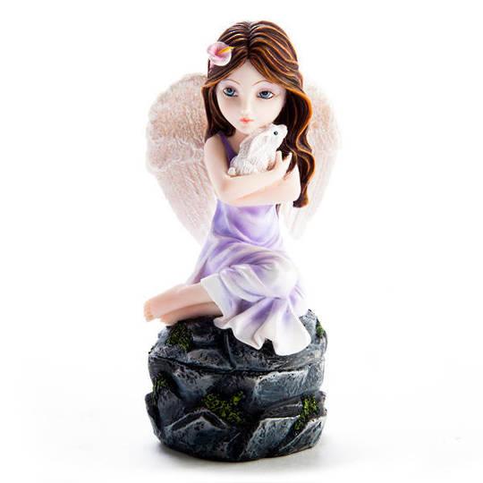 Cute Angel Trinket Box with Cuddle Bunny was $45 now $35