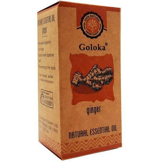 Goloka Ginger Essential Oil 10ml