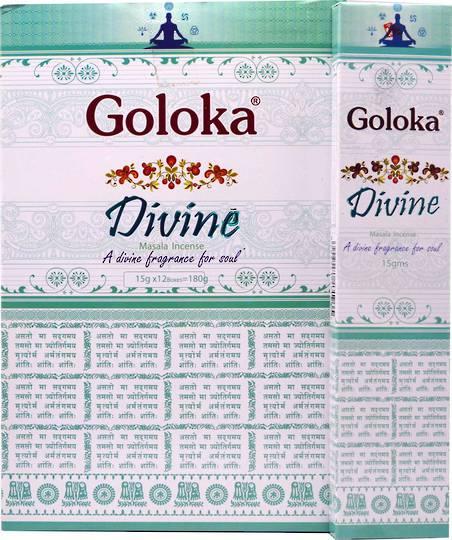 Goloka Divine Incense 15gms
