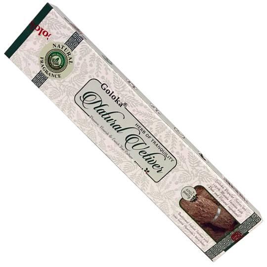 Goloka Vetiver  Incense 15gms