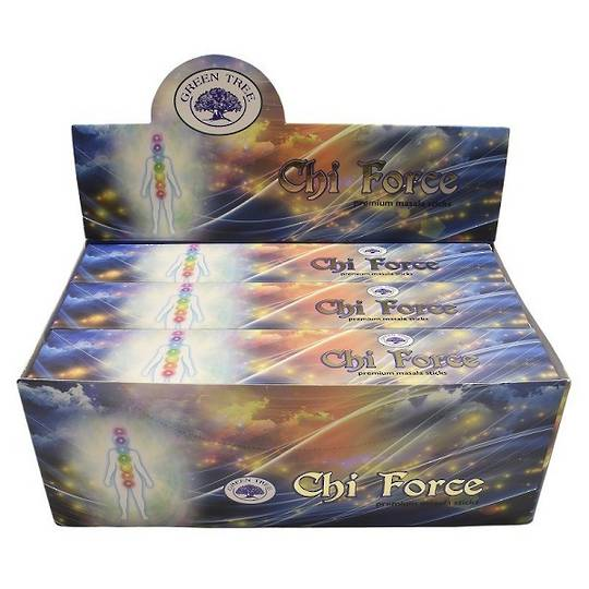 Green Tree Chi Force Incense 15gm