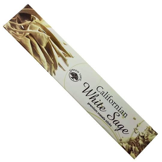 Green Tree California White Sage Incense