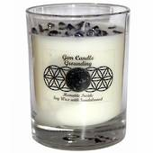 Gemstone Candle – Grounding Hematite