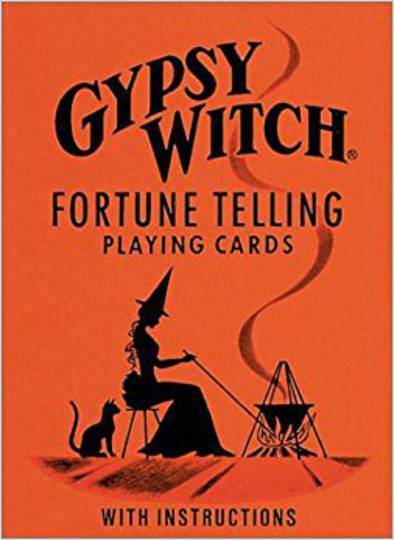 Gypsy Witch Fortunetelling Playing Cards