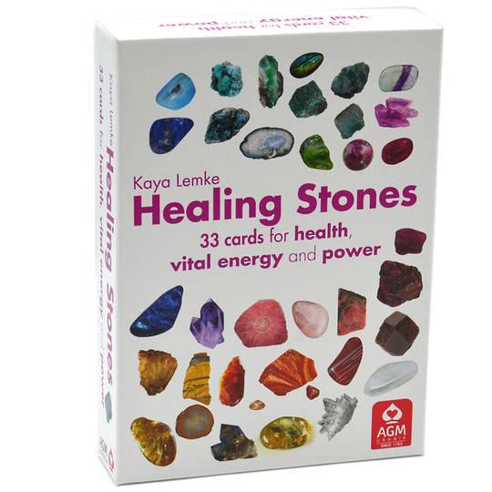 Healing Stone Oracle Cards by Kaya Lemke