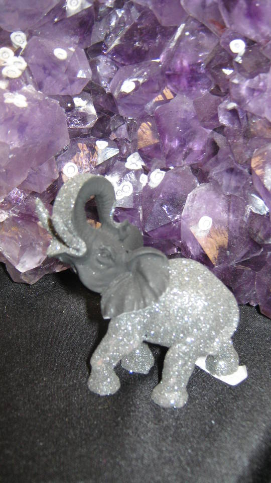 Standing Croatian Volcanic Rock Elephant