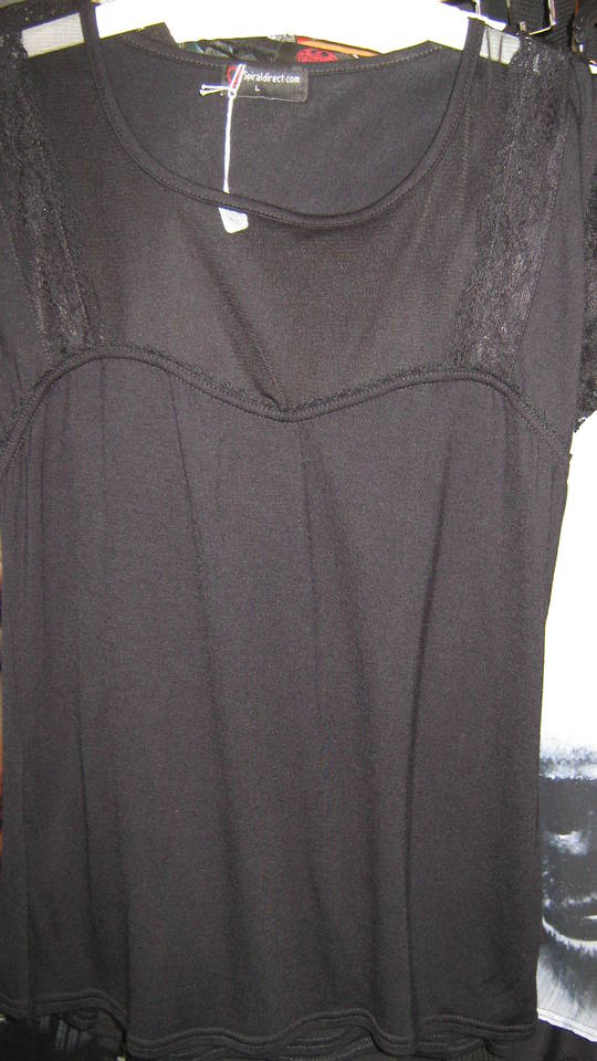Plain Lace and Mesh T (XL) was $65 now $20