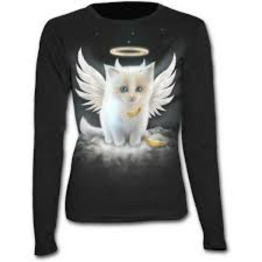 KITTEN ANGEL - Baggy Top Black S was $65 now $20