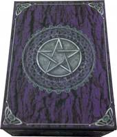 Purple Pentagram Tarot Box